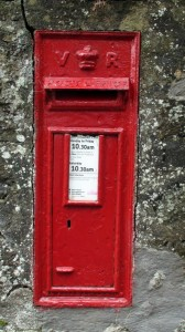 Kilspindie Victorian letter box